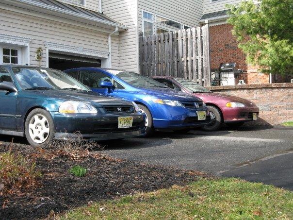 3 car line up 2